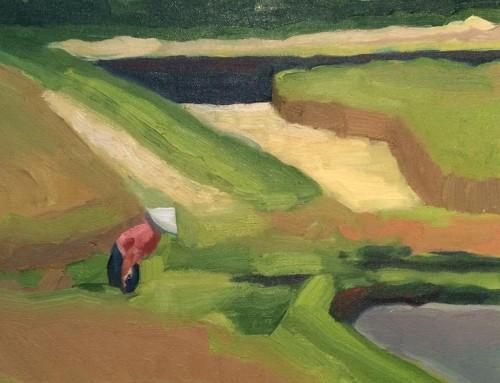 12×12 Bali Rice Fields